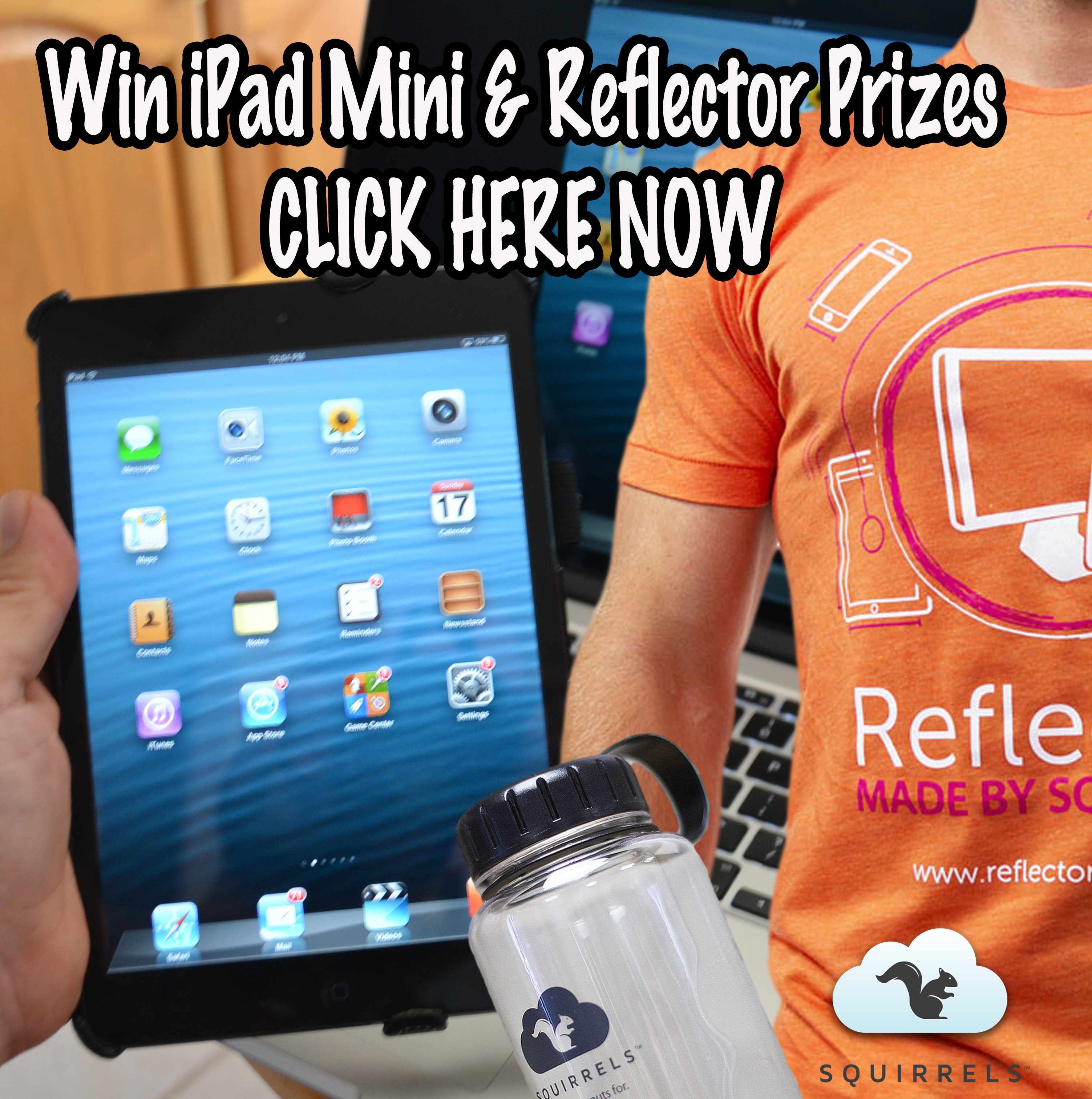 Professor Josh Reflector Prize Pack and iPad Mini Contest